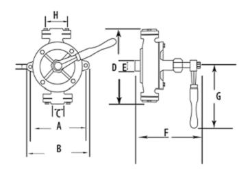 The structure Schematic diagram of the Wing Pump